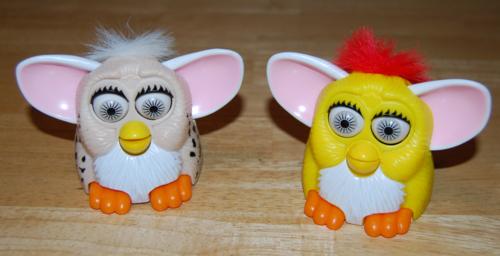 Furby mcd ears prize