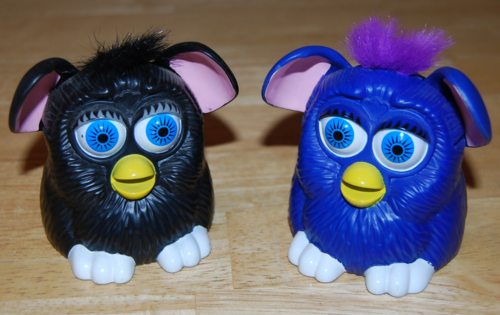 Furby mcd ears wiggle prize