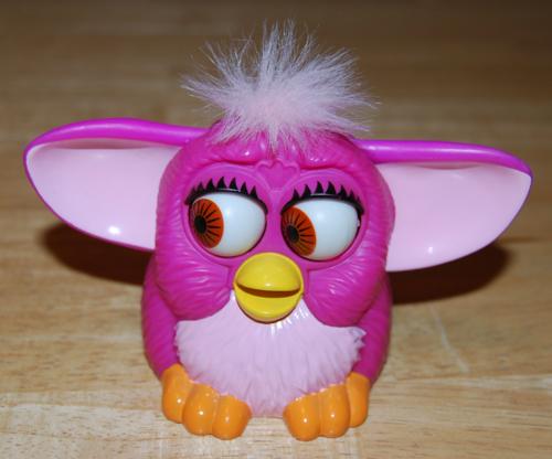 Furby mcd eyes prize
