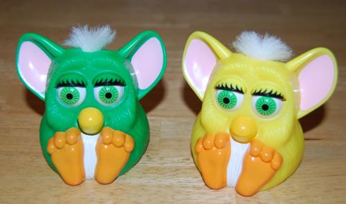 Furby mcd squeak prize