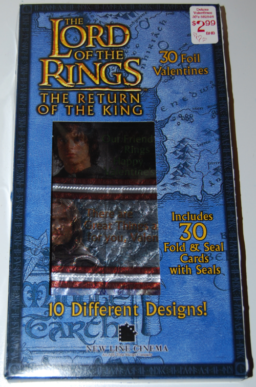Lord of the rings valentines