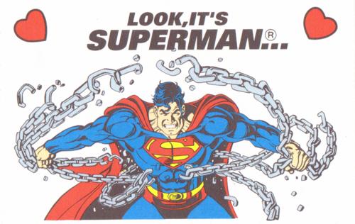 Superman valentine