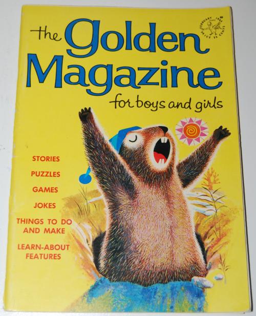 Golden magazine february 1964