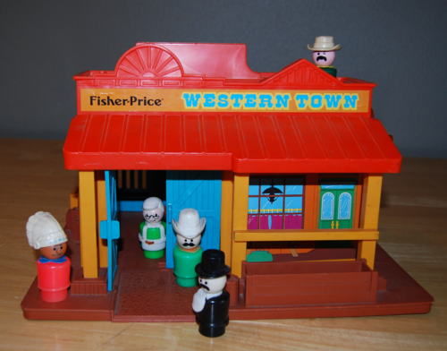Fisher price western town