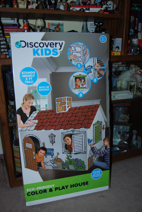 Discovery kids playhouse