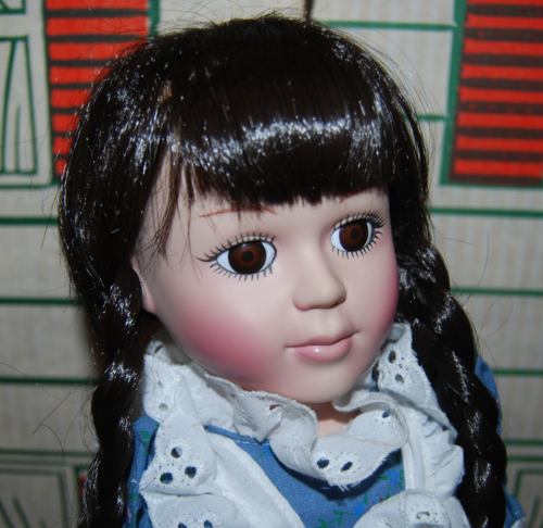 Little red riding hood doll head