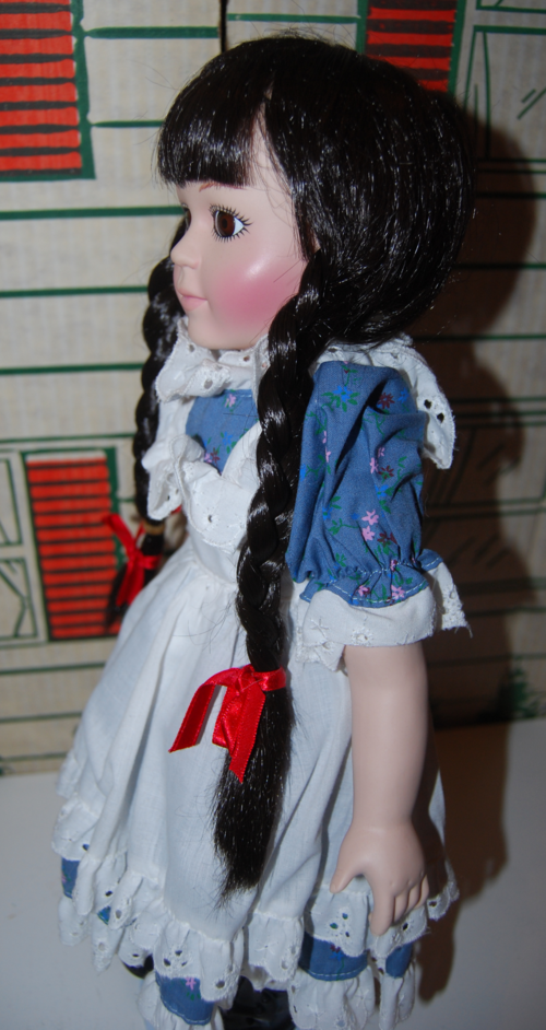 Little red riding hood doll side