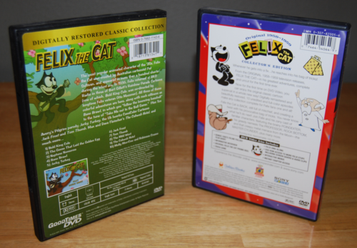 Felix the cat dvds 2