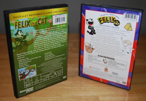 Felix the cat dvds 2
