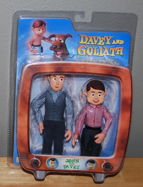 Davey & goliath toys