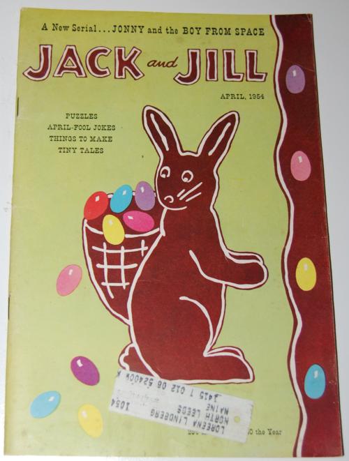 Jack and jill april 1954