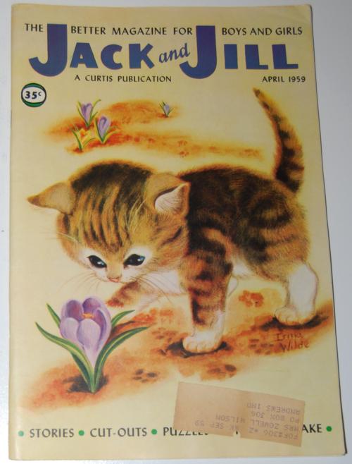 Jack and jill april 1959