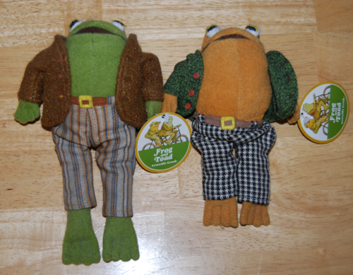 Frog and toad front