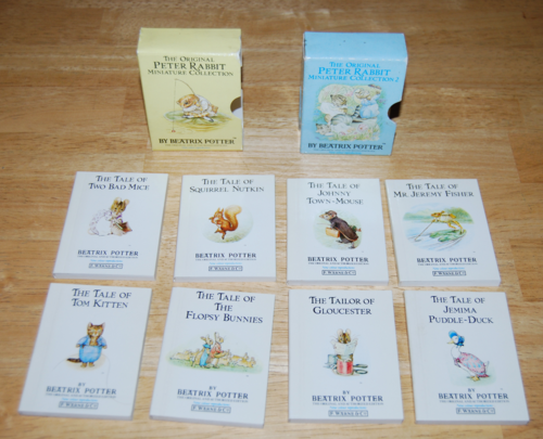 Beatrix potter mini books 2
