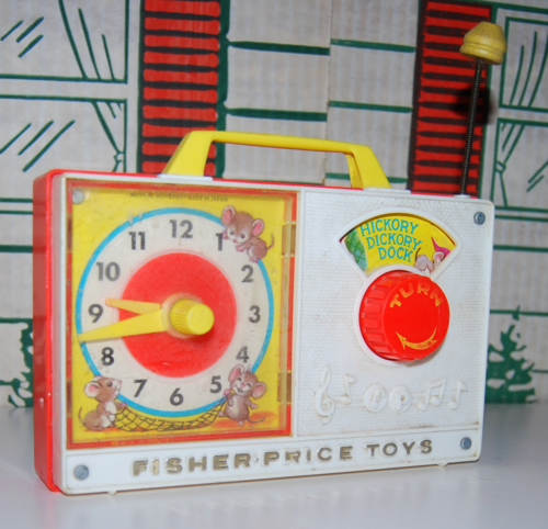 Fisher price hickory dickory dock clock