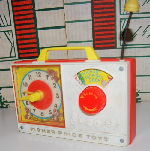 Fisher price hickory dickory dock clock 1