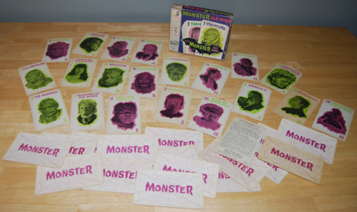 Mb monster old maid set