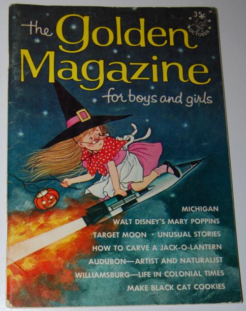 Golden magazine october 1964