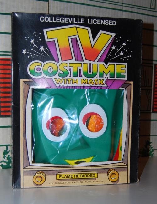 Gumby halloween costume
