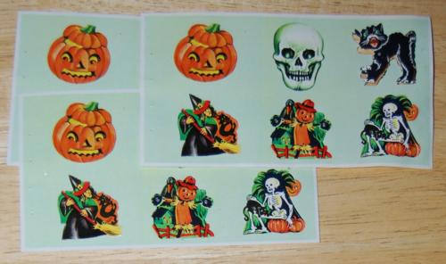 Dennison's halloween seals
