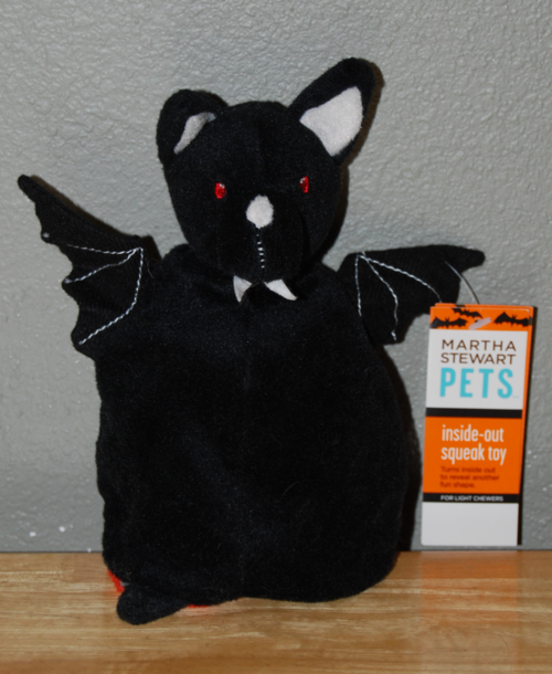 Martha stewart pets vampire bat toy 3
