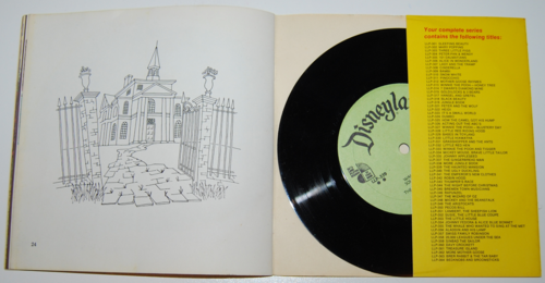 Haunted mansion record