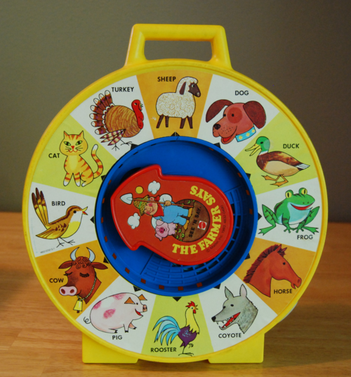 Classic Fisher Price Toys : Fisher price see say lost found vintage toys