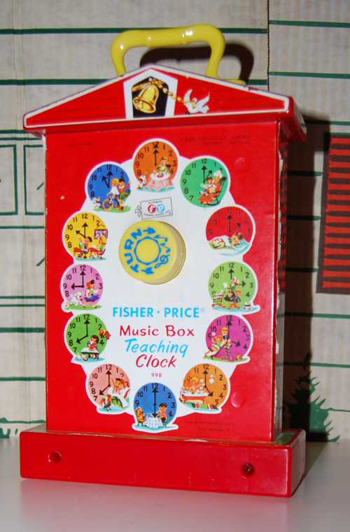 Fisher price musical clock 5