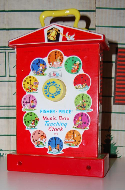 Fisher price musical clock 5