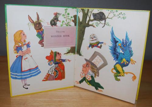 Alice in wonderland wonder books 2