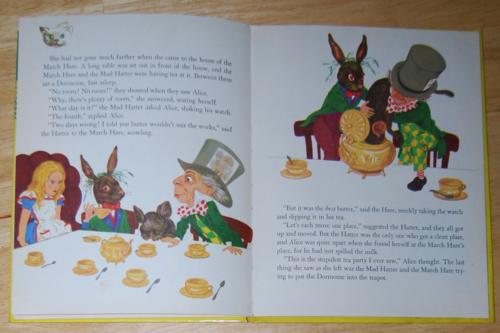 Alice in wonderland wonder books 1951 2