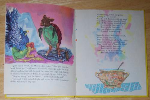 Alice in wonderland wonder books 1951 3