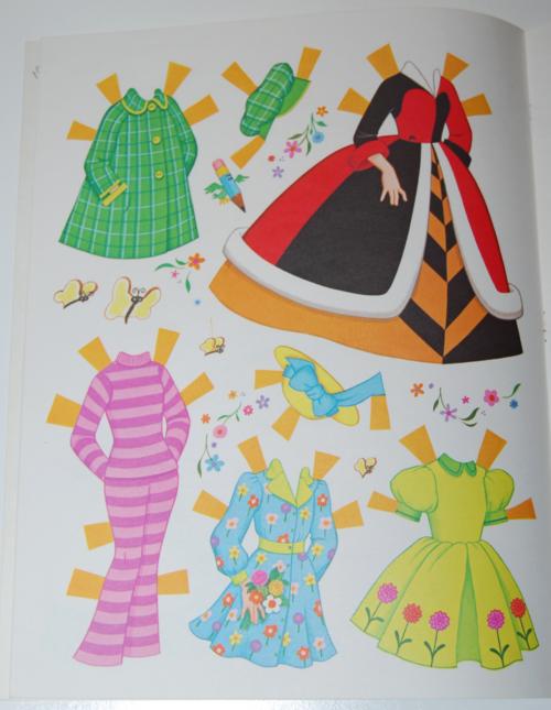 Alice in wonderland paperdolls 2