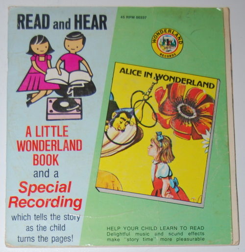 Wonderland alice book record