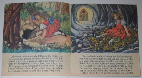 Wonderland alice book record inside 2