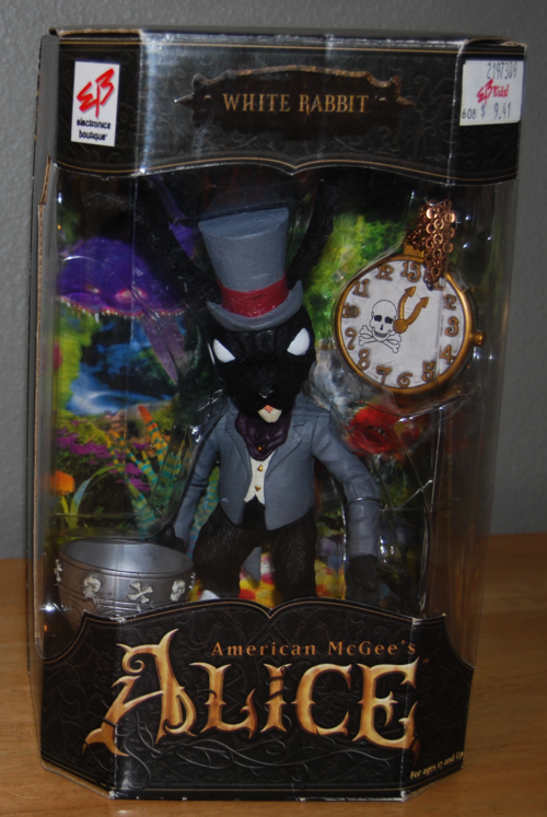 Am mcgee's alice black rabbit variant