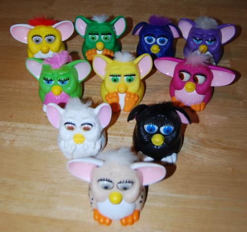 Furby mcd prize group