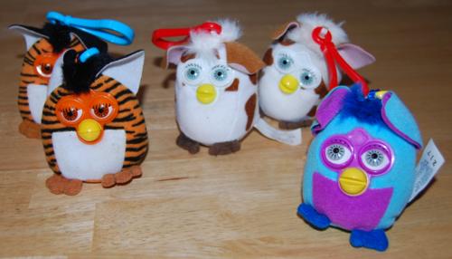 Furby mcd clip prizes