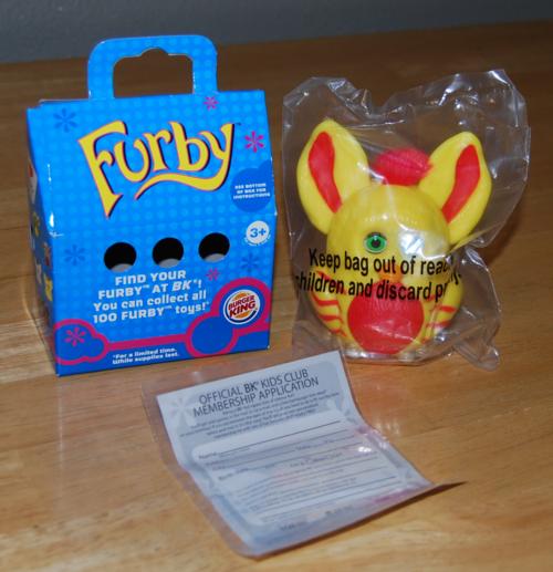Furby bk prize
