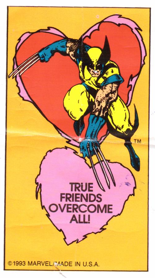 Wolverine xmen valentine 1993