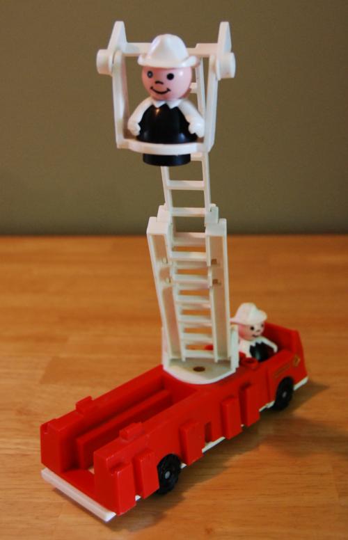 Fisher price firetruck ladder