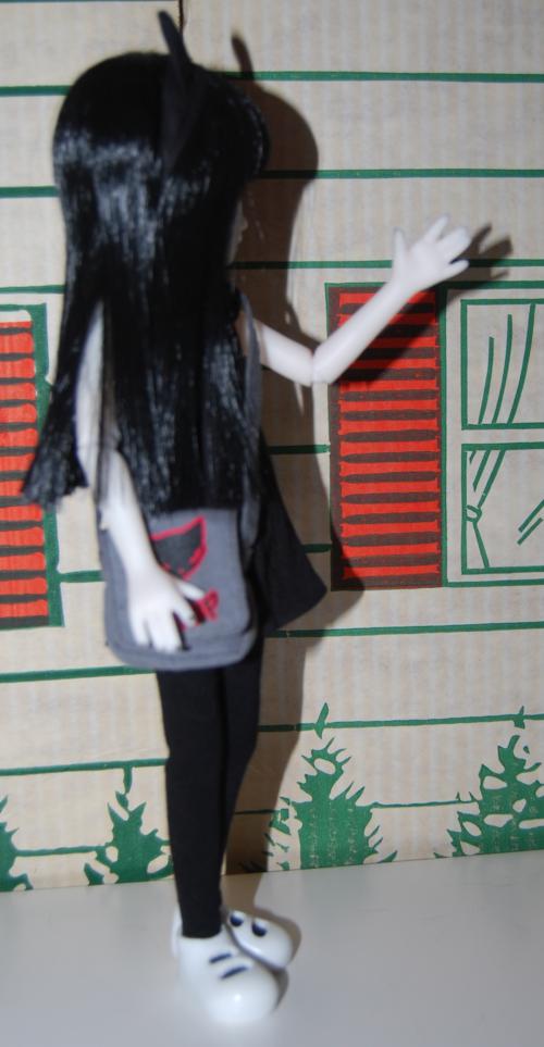 Emily doll side