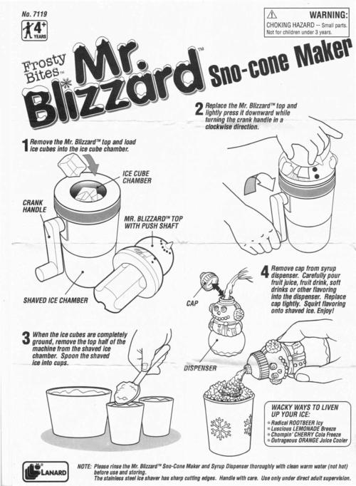 Mr blizzard