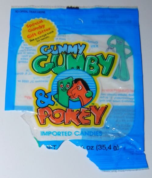 Gummy gumby and pokey