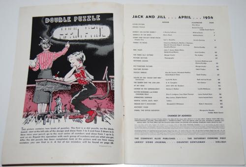 Jack and jill april 1954 1