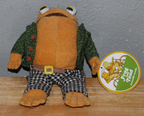 Frog and toad toad front