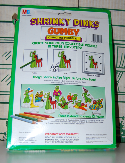 Gumby shrinkydinks 2