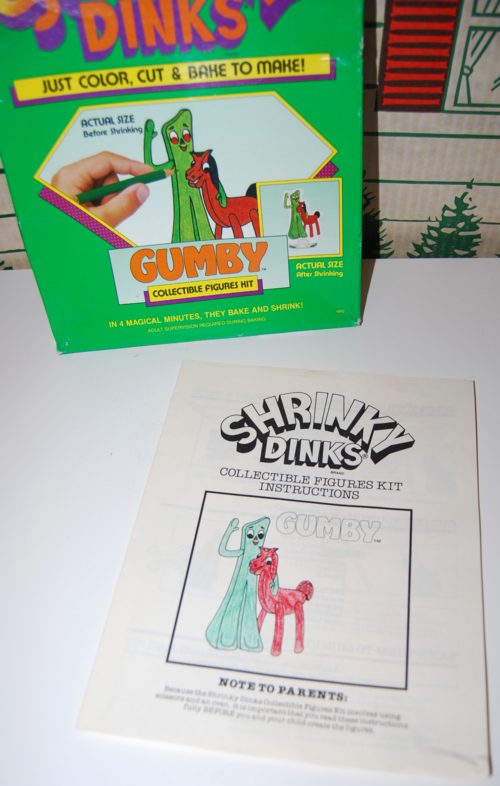 Gumby shrinkydinks 4