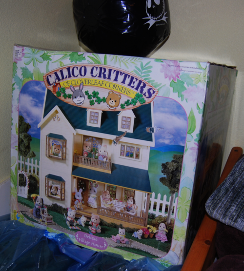 Calico critters house box
