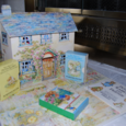 Beatrix potter pop up house book